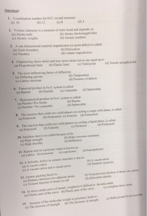 Ionic packing factor homework
