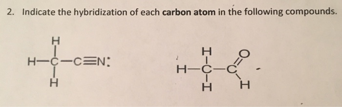 how to find the hybridization of a compound