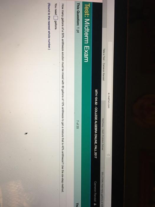 algebra 2 homework help and answers