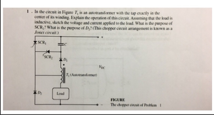 Solved: I In The Circuit In Figure T, Is An Autotransforme ...