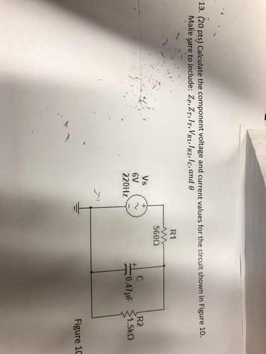 how to get circuit component from a figure