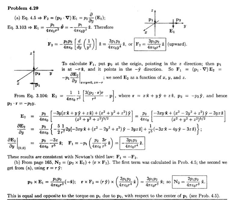 Griffiths homework solutions electrodynamics