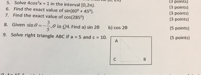 how to solve 8sin2x 4cos2x 7