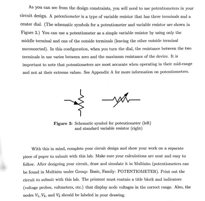 Fancy Symbol Variable Resistor Composition - Schematic Diagram ...