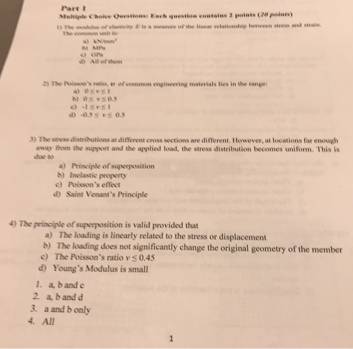 Mechanical engineering archive april 03 2018 chegg part t mwhiple choive onestionse each question contains 2 points 20 points i the wohilus fandeluxe Choice Image