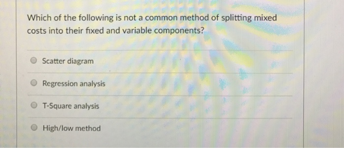 which of the following is not a component of a machine