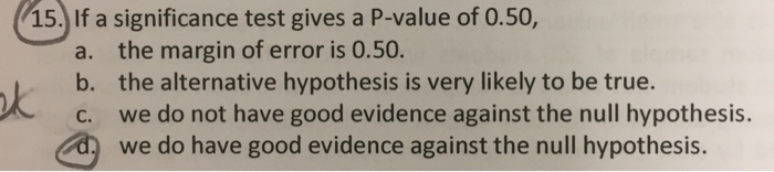how to tell if the p value is significant