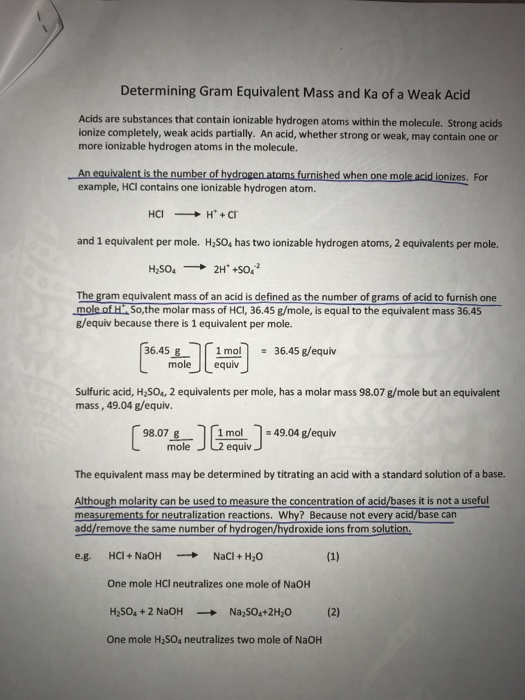 determining the equivalent mass and dissociation Chapter 5 molecular vibrations and time-independent perturbation theory outline homework questions attached part a: the harmonic oscillator and vibrations of molecules.