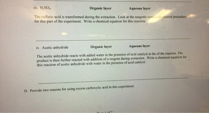 fischer esterification essay The tools you need to write a quality essay or  fischer esterification was also used in the  organic chemistry nomenclature organic chemistry involves .