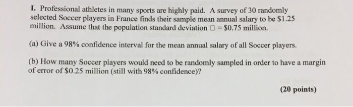 a survey of the salaries of athletes Student-athletes do not need to receive huge salaries like their coaches rather, they could still be paid a reasonable amount relative to how much the program makes scholarships often cover most of the student-athletes' books and room expenses, but even few extra hundred dollars per year could compensate for the lack of time these students have to earn spending money at a regular part-time job, argues harnett.
