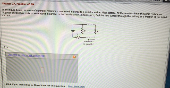Mastering Physics Solutions Batteries In Series Or Parallel