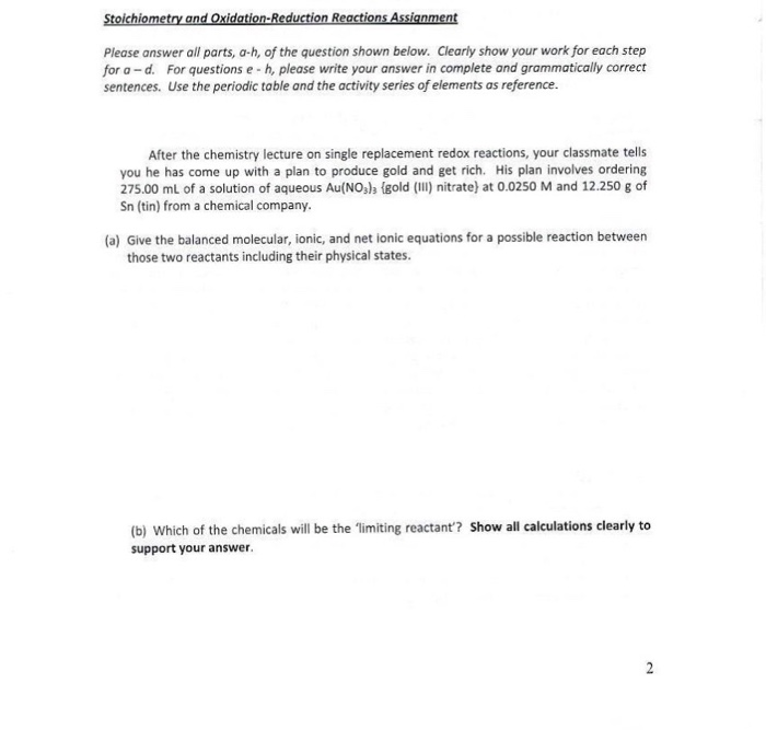 Homework help stoichiometry of a reaction Help with psychology – Chemistry Stoichiometry Worksheet