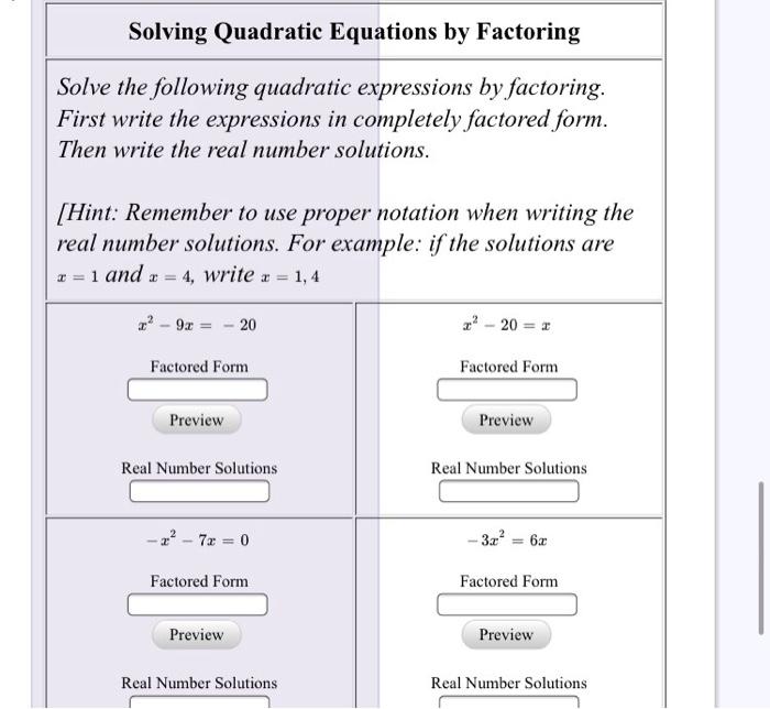 quadratic equation questions and answers pdf