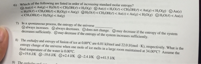 Ice Melts Spontaneous At Room Temperature