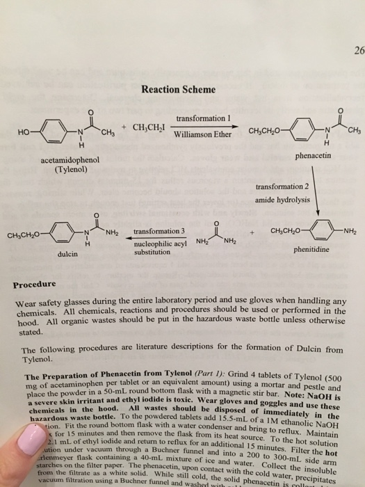 amide synthesis of phenacetin P 1 1 2 0 he alth fire re activity pe rs onal prote ction 2 1 0 e material safety data sheet phenacetin msds section 1: chemical product and company identification.