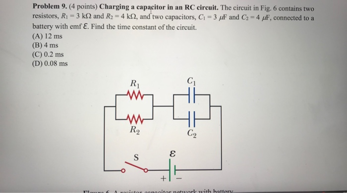 how to find energy in rc circuit