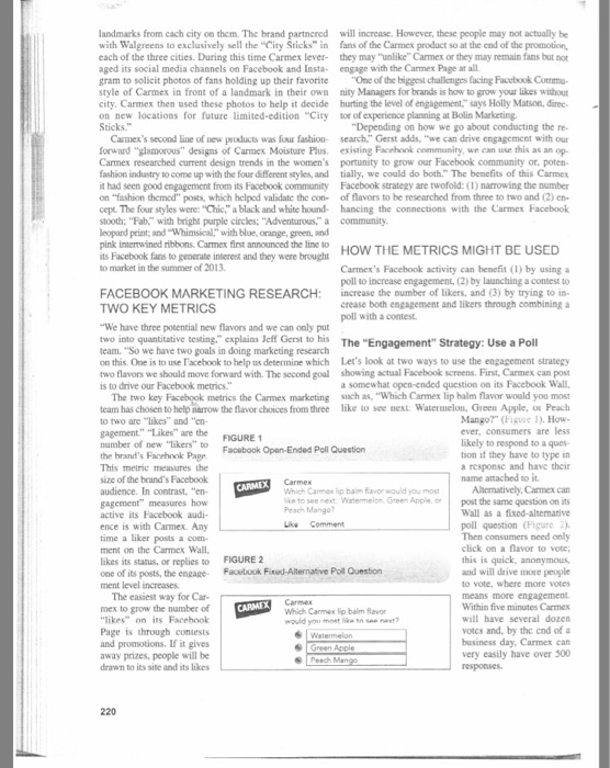 carmex facebook case study View this case study on case study of facebook facemash to facebook an innovative journey from university social networking website to billion dollar business.