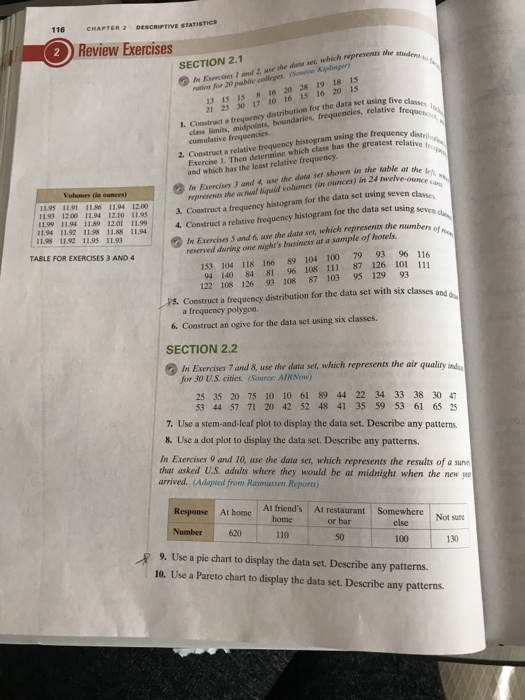 statistics exercise 36 answers Step-by-step solutions to all your statistics homework questions - slader.