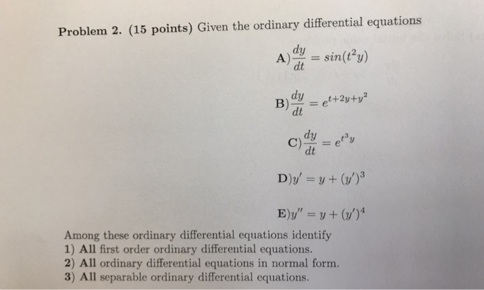 Other Math Archive October 05 2017 – Separable Differential Equations Worksheet
