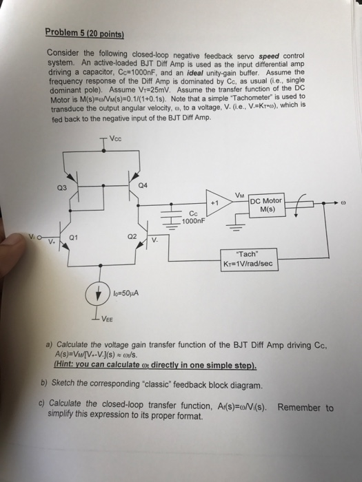 The Circuit I Used Is Below Its A Simplification Of The One On The