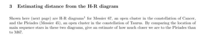 Solved 3 estimating distance from the h r diagram shown h 3 estimating distance from the h r diagram shown here next page are h r diagrams ccuart Images