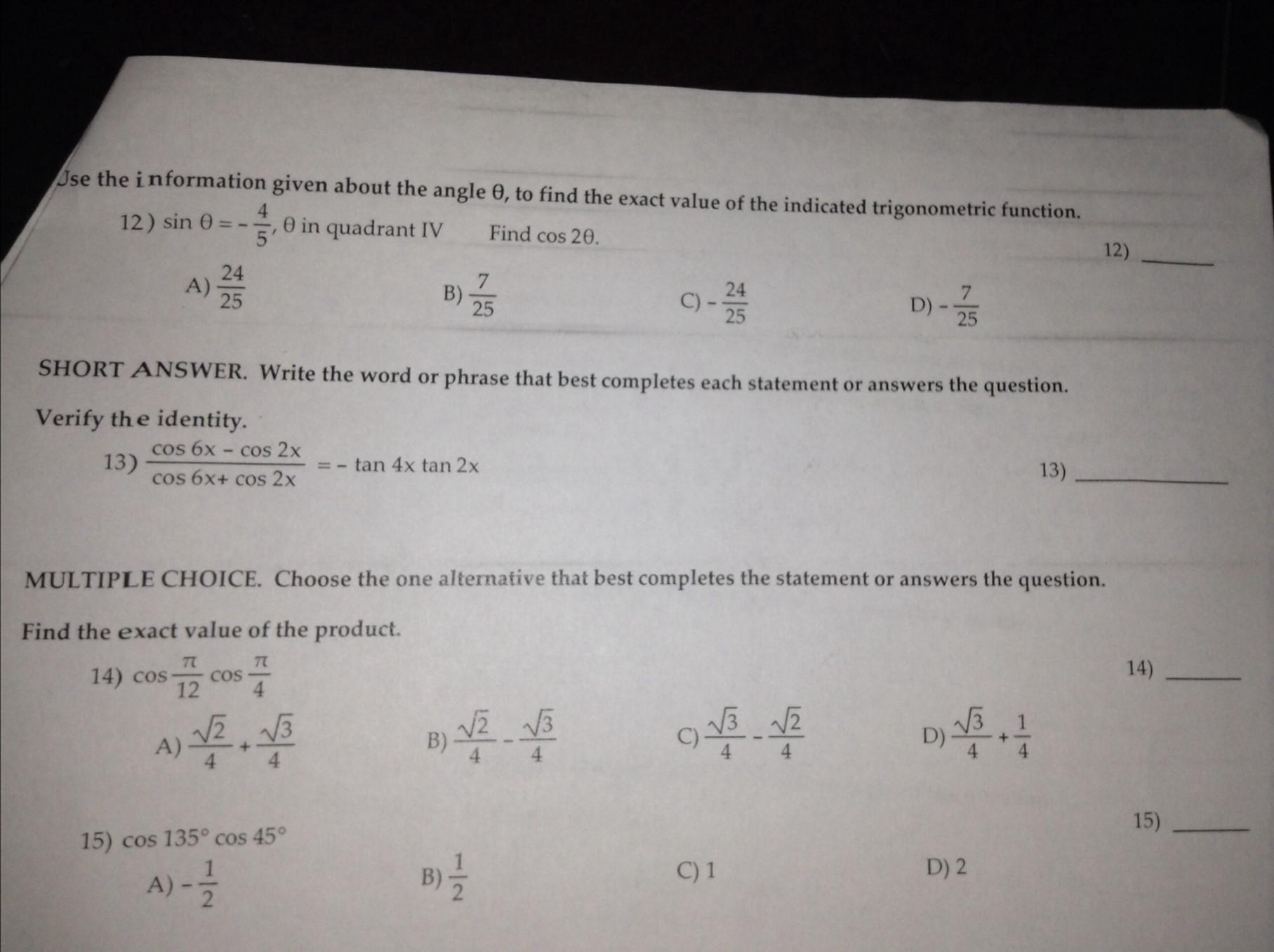 precalculus trigonometry homework help prepositional phrase algebra and trigonometry pdf