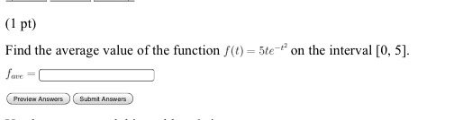 how to find the average value of function
