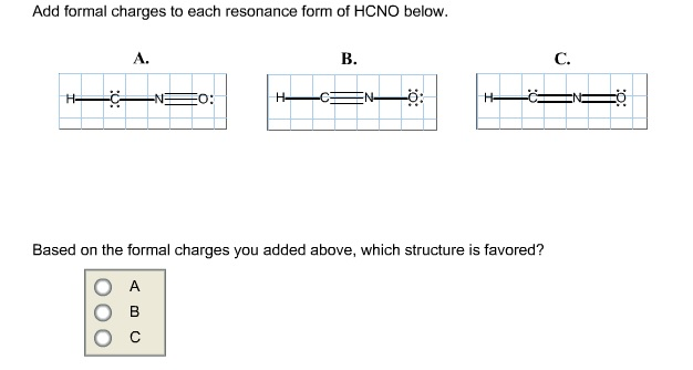 Hcno Lewis Structure With Formal Charges Add formal charges to eachN2o4 Lewis Structure Formal Charge