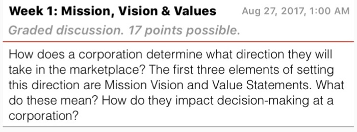 how does a corporation determine what direction they will take in the marketplace How does a corporation determine what direction they will take in the marketplace the first three elements of setting this direction are mission, vision and value.