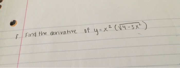 how to find derivative with square root and ln