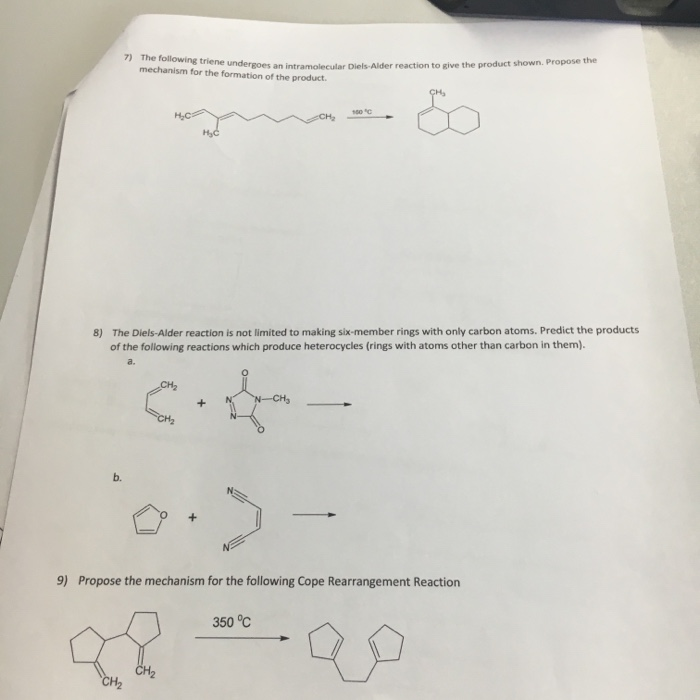 the formation of diels alder reactions essay The diels-alder reaction is a reaction used in organic chemistry that builds rings very efficiently (1), this cycloaddition process allows for the stereoselective formation of cyclohexene rings possessing as many as four contiguous stereogenic centers (3) this reaction occurs without intermediates, in a single step.