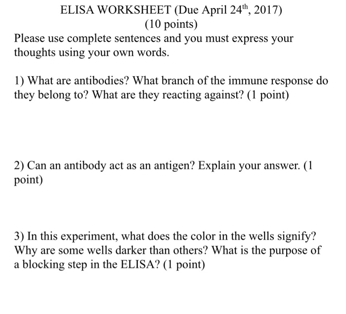 Letter M Printable Worksheets Word Biology Archive  April    Cheggcom 1 Grade Math Worksheet Pdf with Relative Pronouns Worksheet Elisa Worksheet Due April Th   Points Please Use Complete  Sentences Cell Theory Worksheet Excel