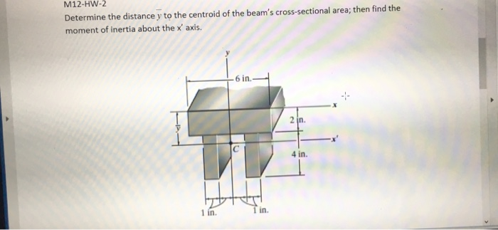 how to find cross sectional area