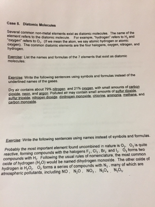 Chemistry Counting Atoms In Compounds Worksheet 7.0 1 - Deployday