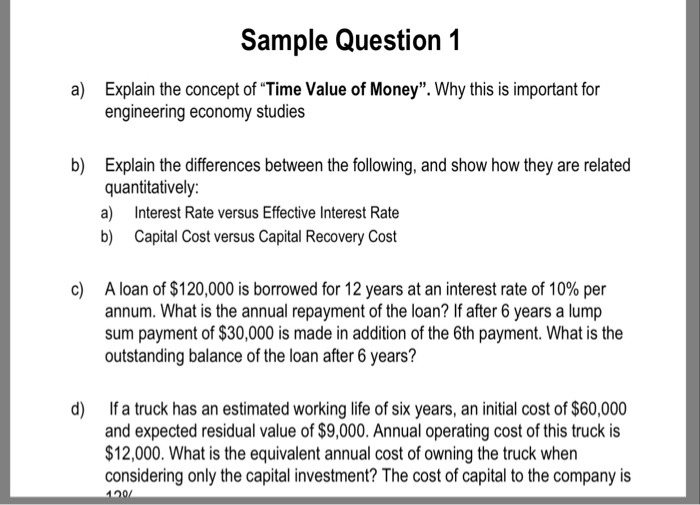 an essay on time value for money concepts The value of money english literature essay by means the reactions we have about money we can perceive the real value of it and the value delivered on time.
