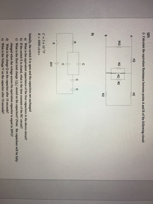 Voltage Across C For A High Time Constant Rc Circuit