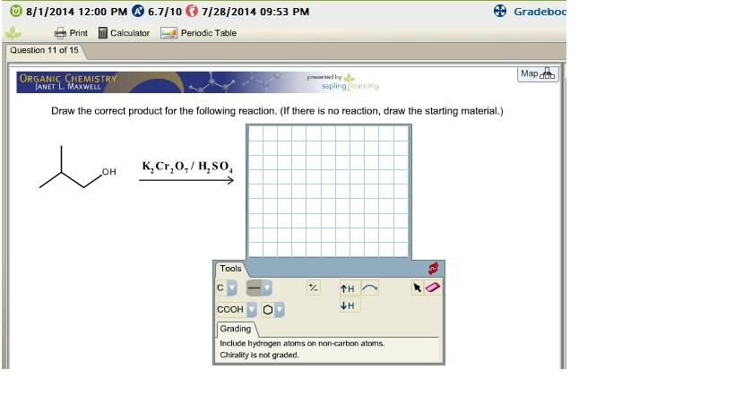 If You Use Sapling, Please Take A Screen Shot Of ... | Chegg.com