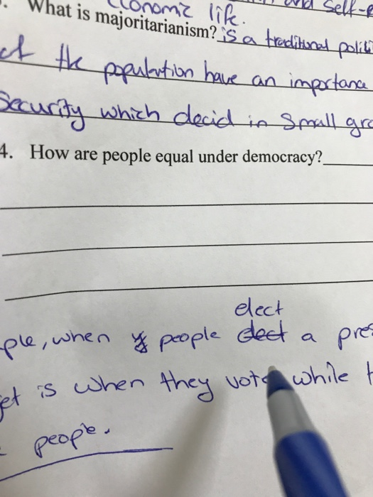 democracy and majoritarianism essay Majoritarianism, pluralism and multitude the concept of majoritarianism means to take action for practice political decision with majority's votes in order to determine delegate at the representative democracy.