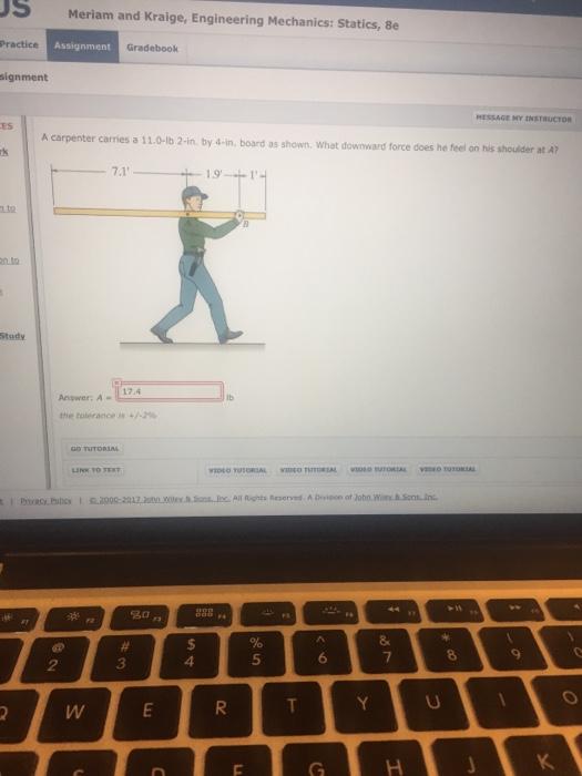 Meriam kraige engineering mechanics statics  th txtbk Amazon com