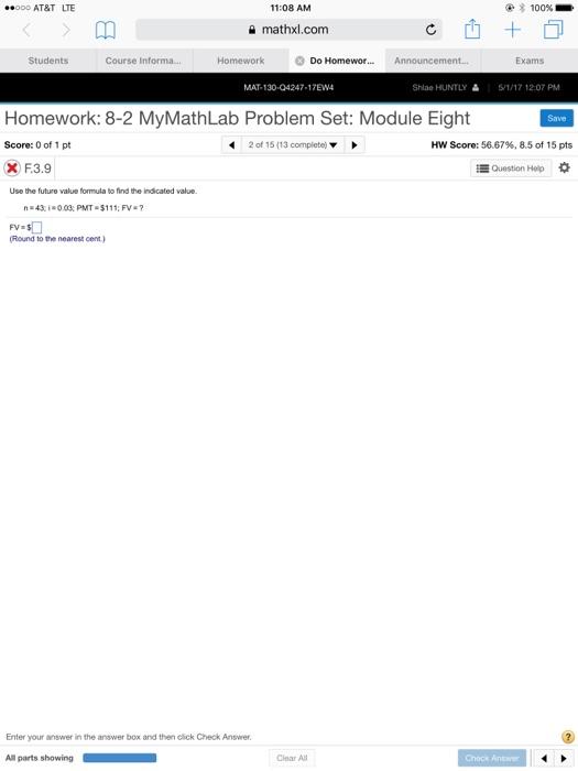 Statistics probability help