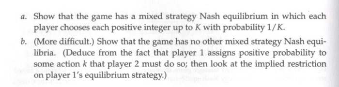 Question: ExAMPLE 117.1 (Checking whether a mixed strategy profile is a mixed strategy Nash equilibrium) I ...