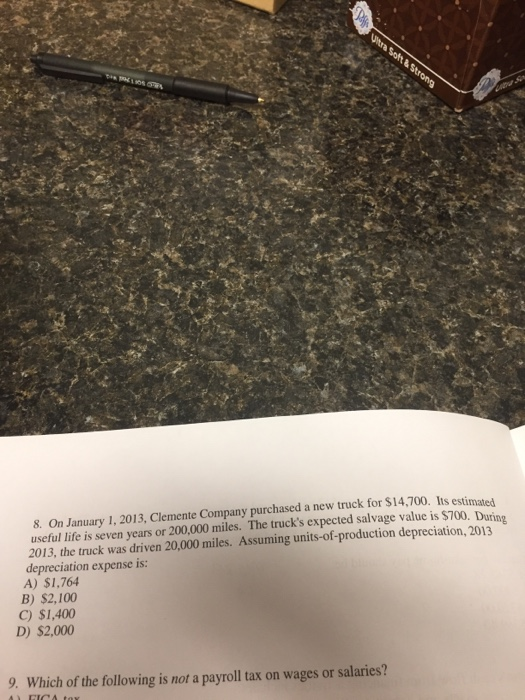 Question: On January 1, 2013, <a href=
