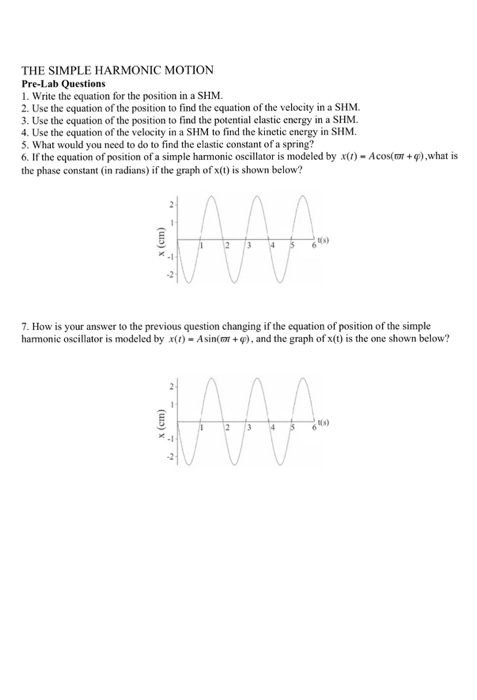simple harmonic motion questions and answers pdf