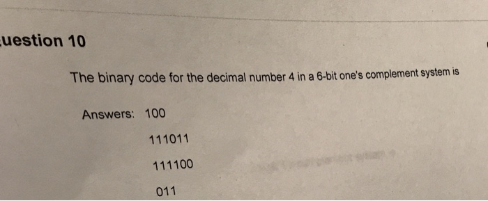 binary to decimal questions and answers pdf