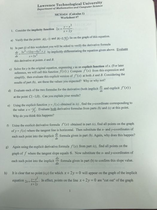 Making Inferences Worksheets Grade 3 Calculus Archive  February    Cheggcom Text And Graphic Features Worksheet with 2nd Grade Math Worksheets Printable Word Lawrence Technological University Department Of Mathematics Computer  Mcs Calculus  Worksheet A I 5th Grade Main Idea Worksheets Pdf