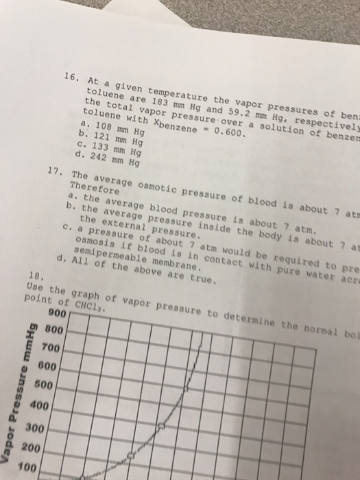 how to find osmotic pressure given molarity and temperature