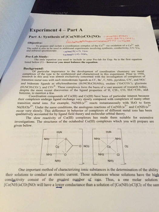 coordination chemistry questions and answers pdf