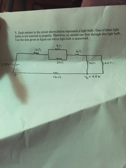The Circuit Will Not Work Figure 1 A Parallel Circuit