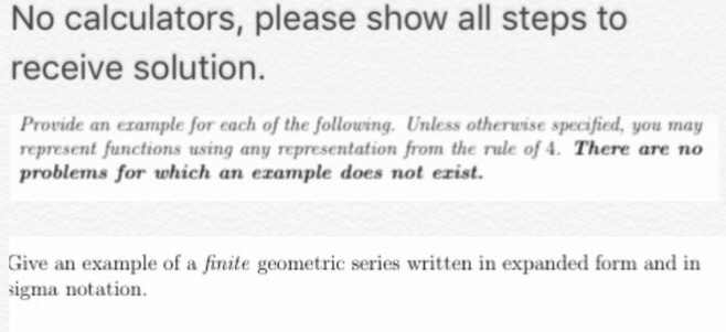 Solved Provide An Example For Each Of The Following Unle