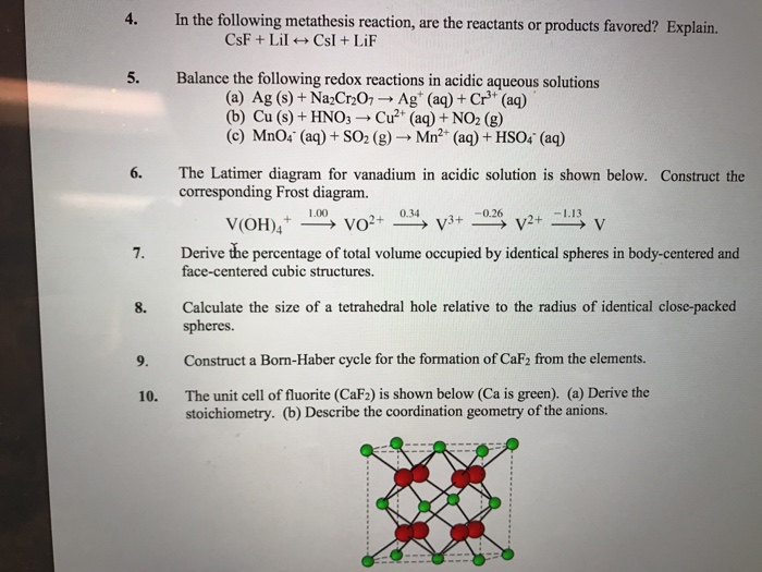 Solved in the following metathesis reaction are the reac 4 in the following metathesis reaction are the reactants or products favored explain ccuart Image collections